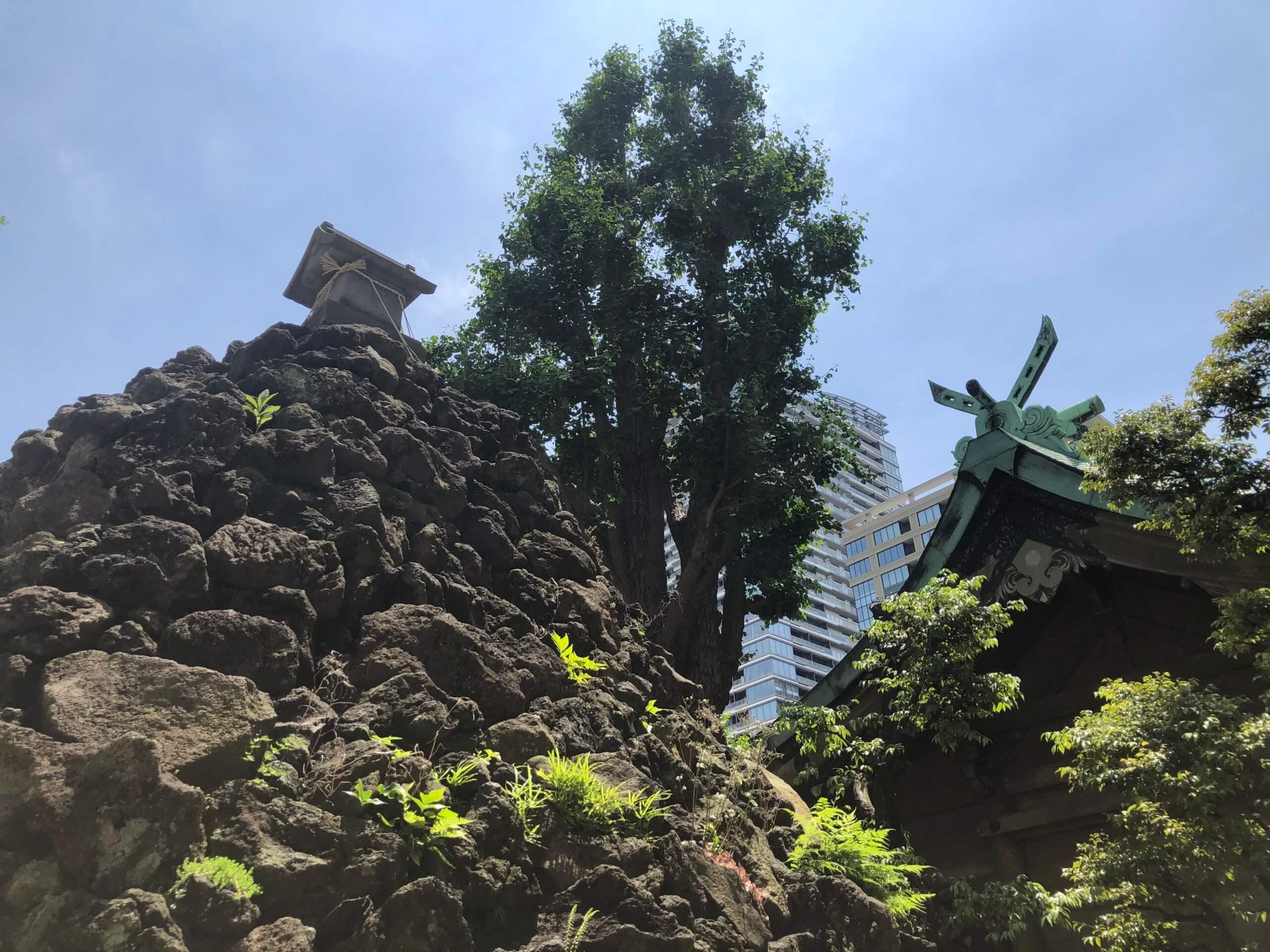 鉄砲州稲荷神社